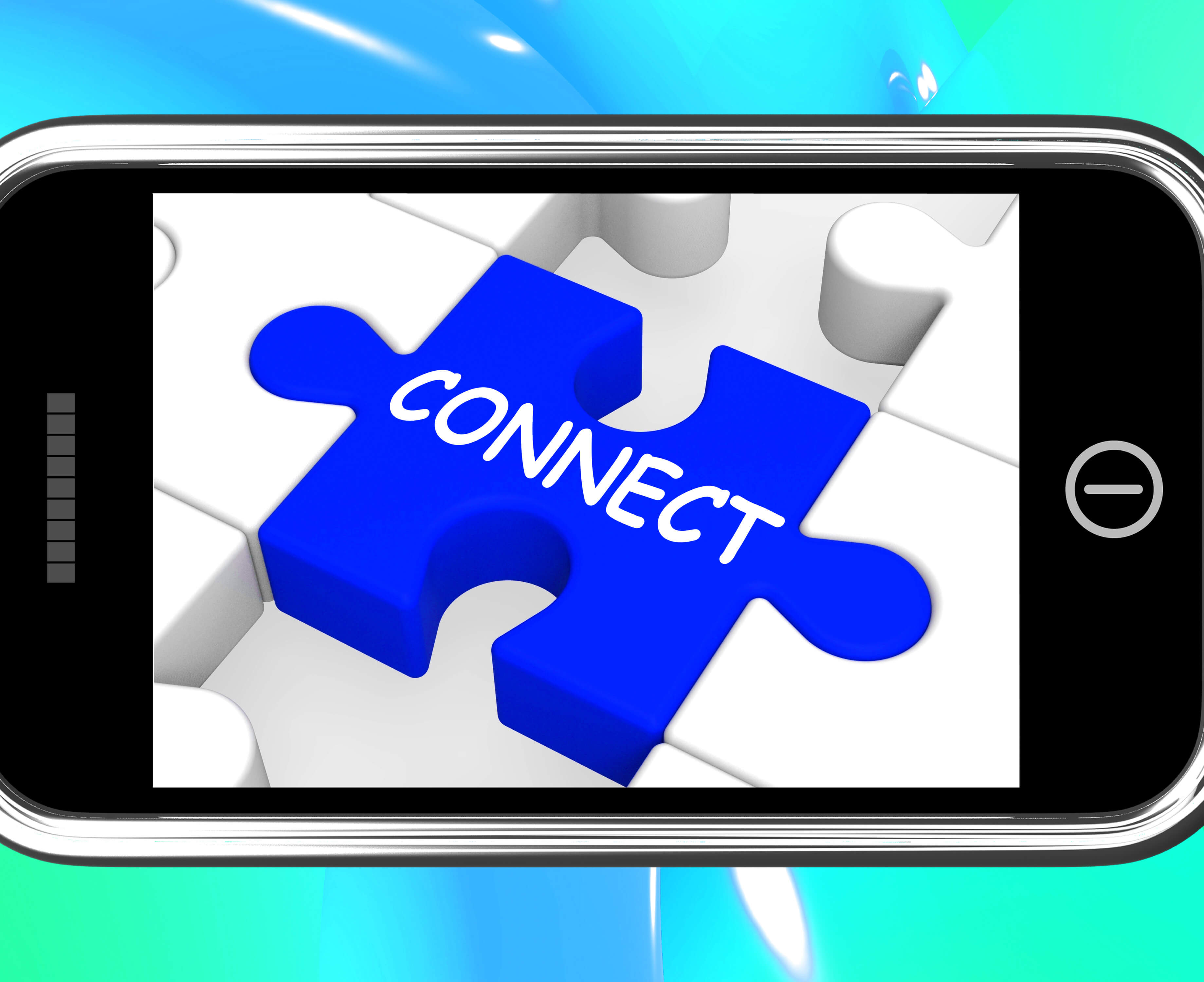 connect puzzle piece inside monitor - SEO