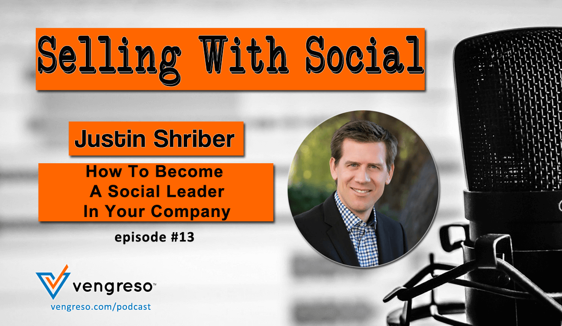 How to become a social leader - Justin Shriber