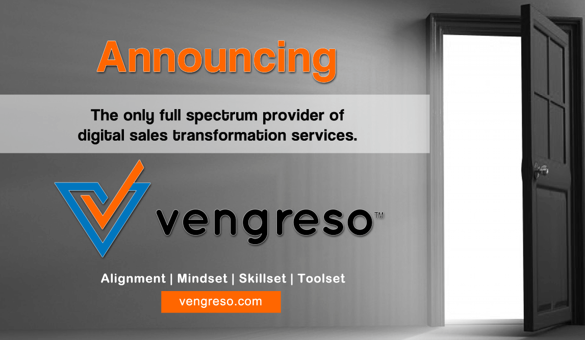 Vengreso Announcement - Digital Sales Transformation