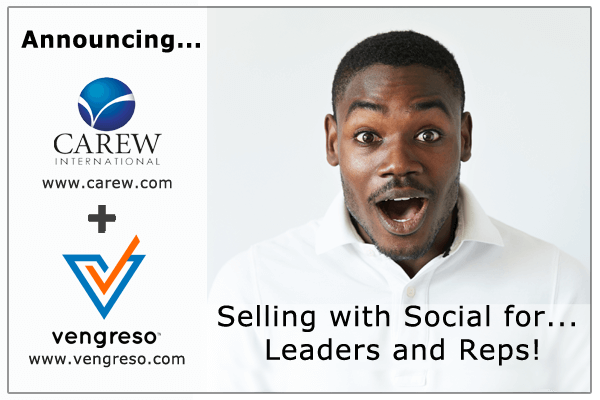 Carew International Vengreso social selling training