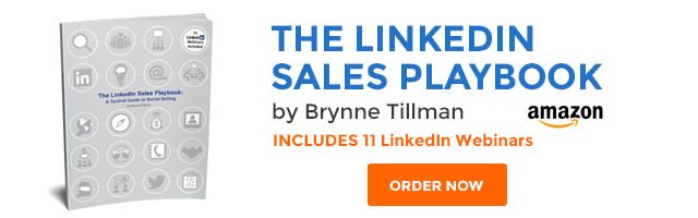 LinkedIn Sales Playbook by Brynne Tillman