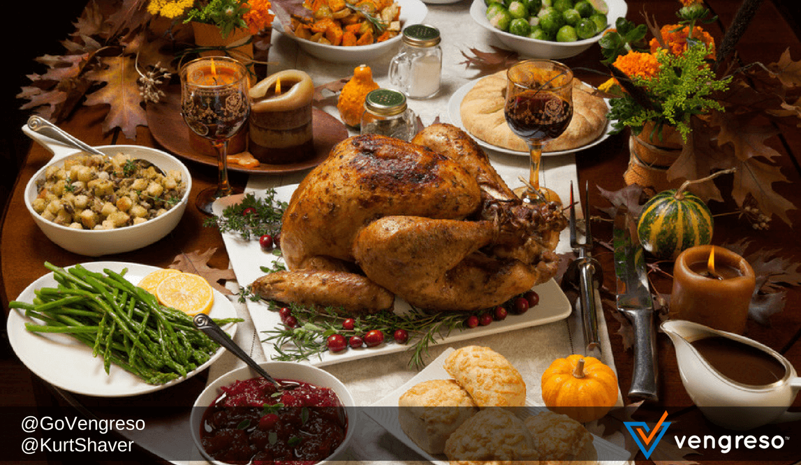 Social Selling Benefits of Thanksgiving Leftovers