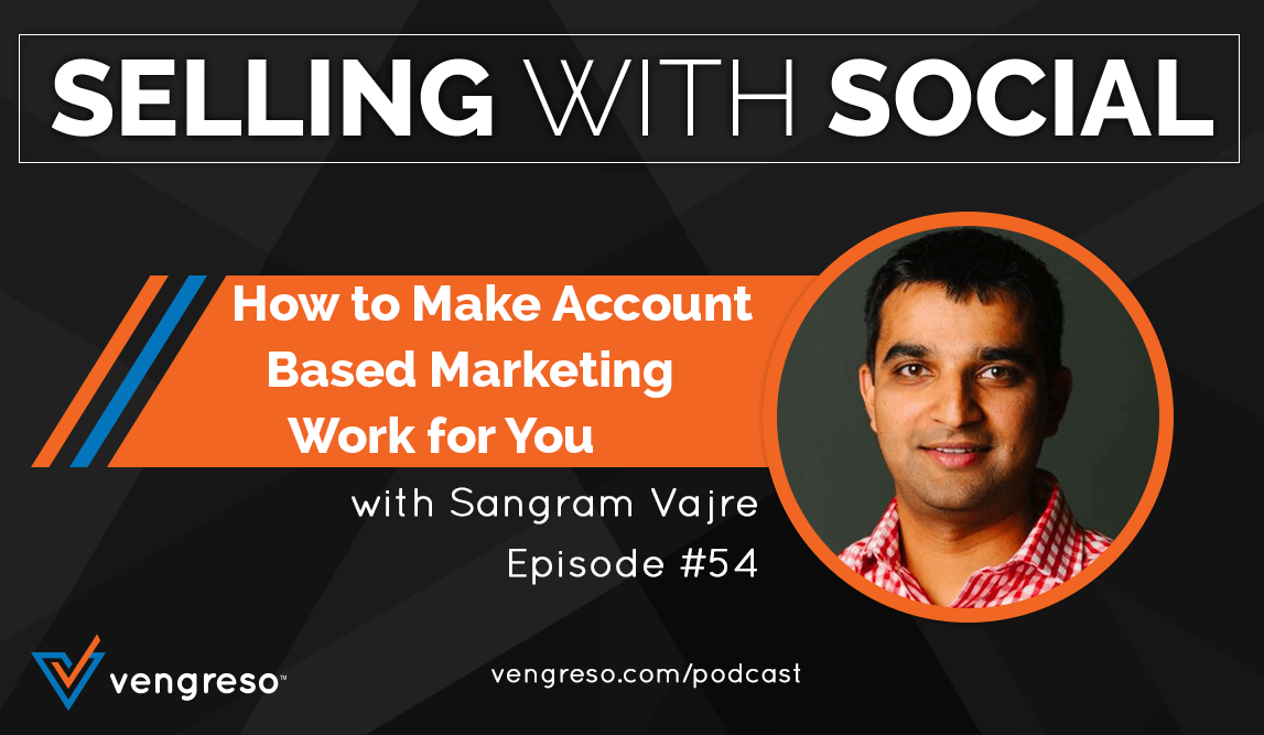Account Based Marketing, Sangram Vajre