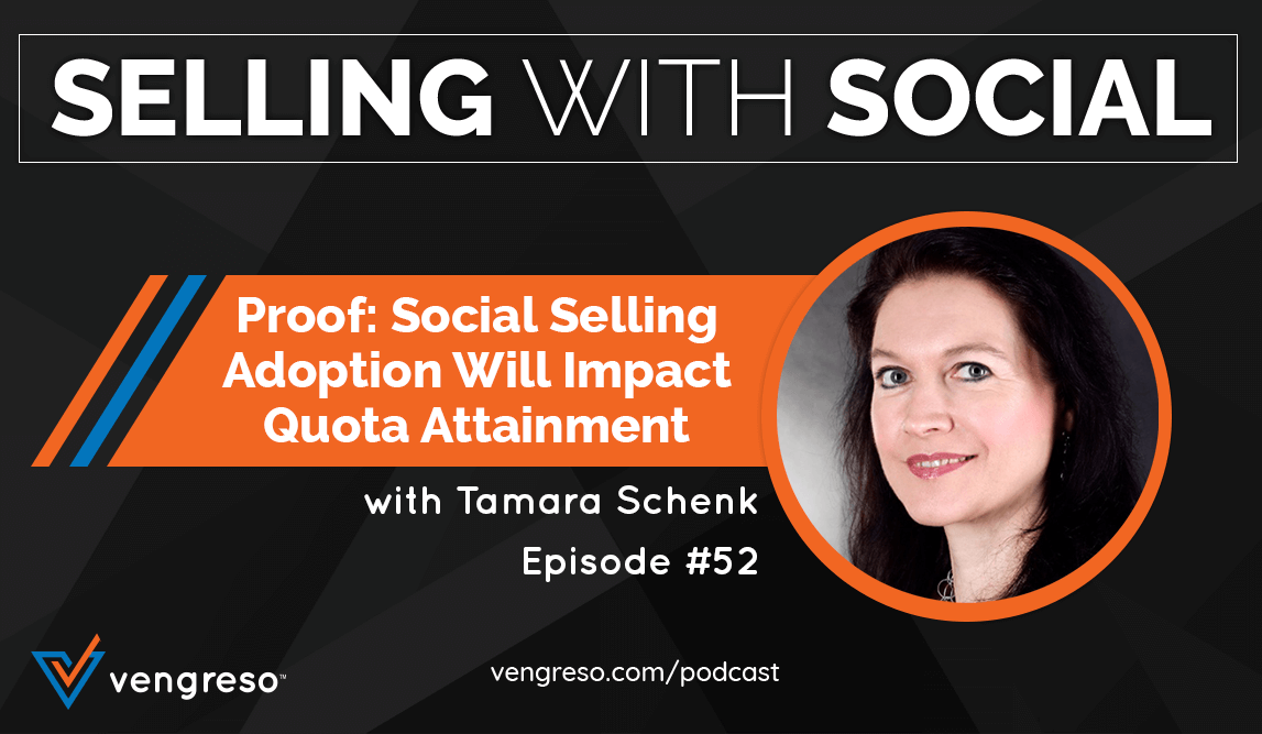 Proof Social Selling Adoption Will Impact with Tamara Schenk