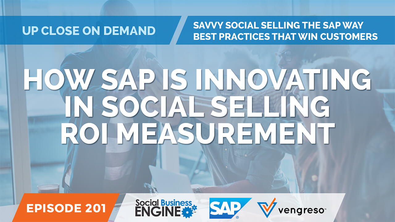 How SAP Is Innovating in Social Selling ROI Measurement