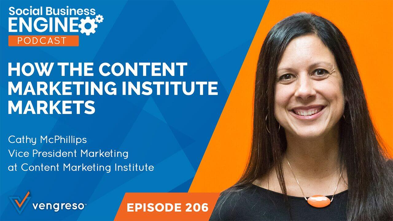 How the Content Marketing Institute Markets