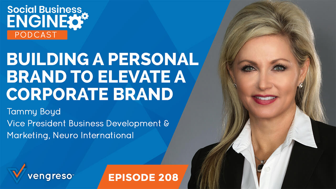 Building a Personal Brand to Elevate a Corporate Brand
