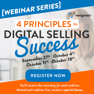 New Webinar Series - 4 Principles to Digital Selling Success - Register Now!
