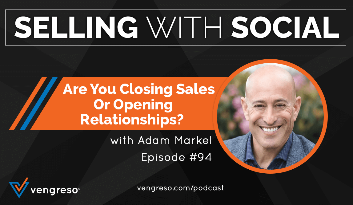 Adam Markel podcast interview on Closing Sales
