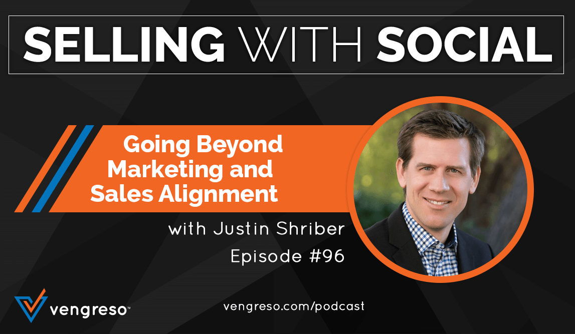 Justin Shriber podcast interview on sales and marketing alignment
