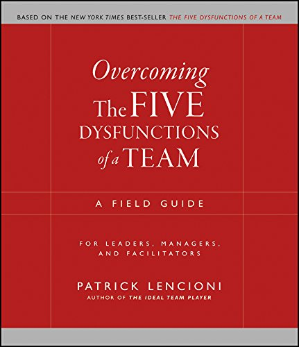 Must read sales book -Overcoming the Five Dysfunctions of a Team