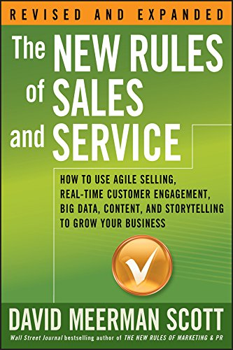Must read sales book - New Rules of Sales and Service by David Meerman Scott