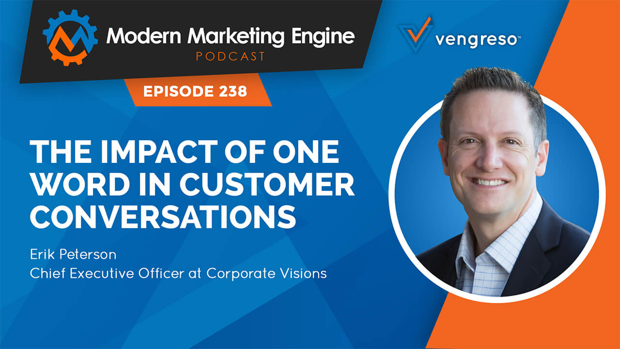 Erik Peterson podcast interview on creating valuable conversations with the customers