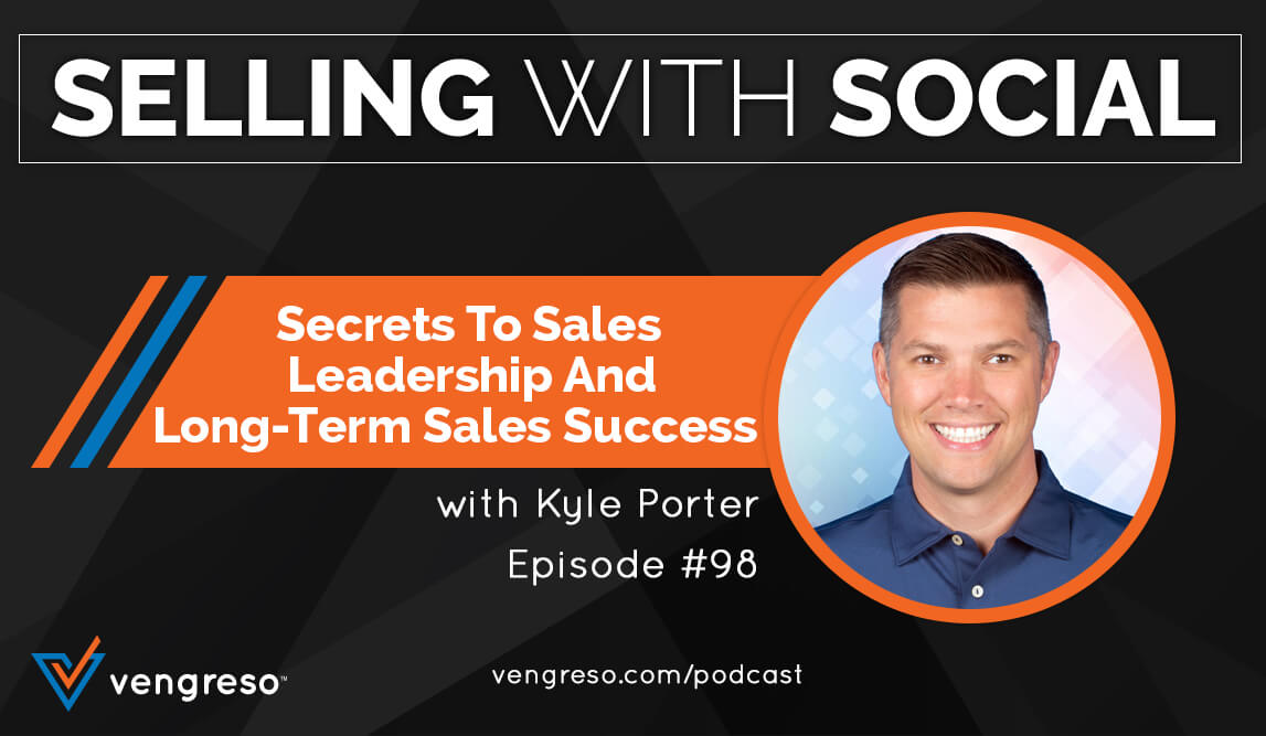 Kyle Porter podcast interview on the secrets to sales leadership