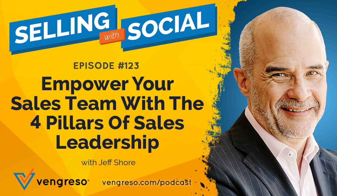 Jeff Shore podcast interview on sales leadership tips