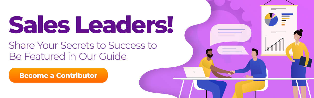 Contribute to Our Sales Leaders' Tips for Modern Sales Success