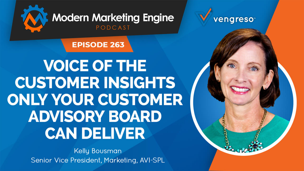 Kelly Bousman podcast interview on managing customer advisory board
