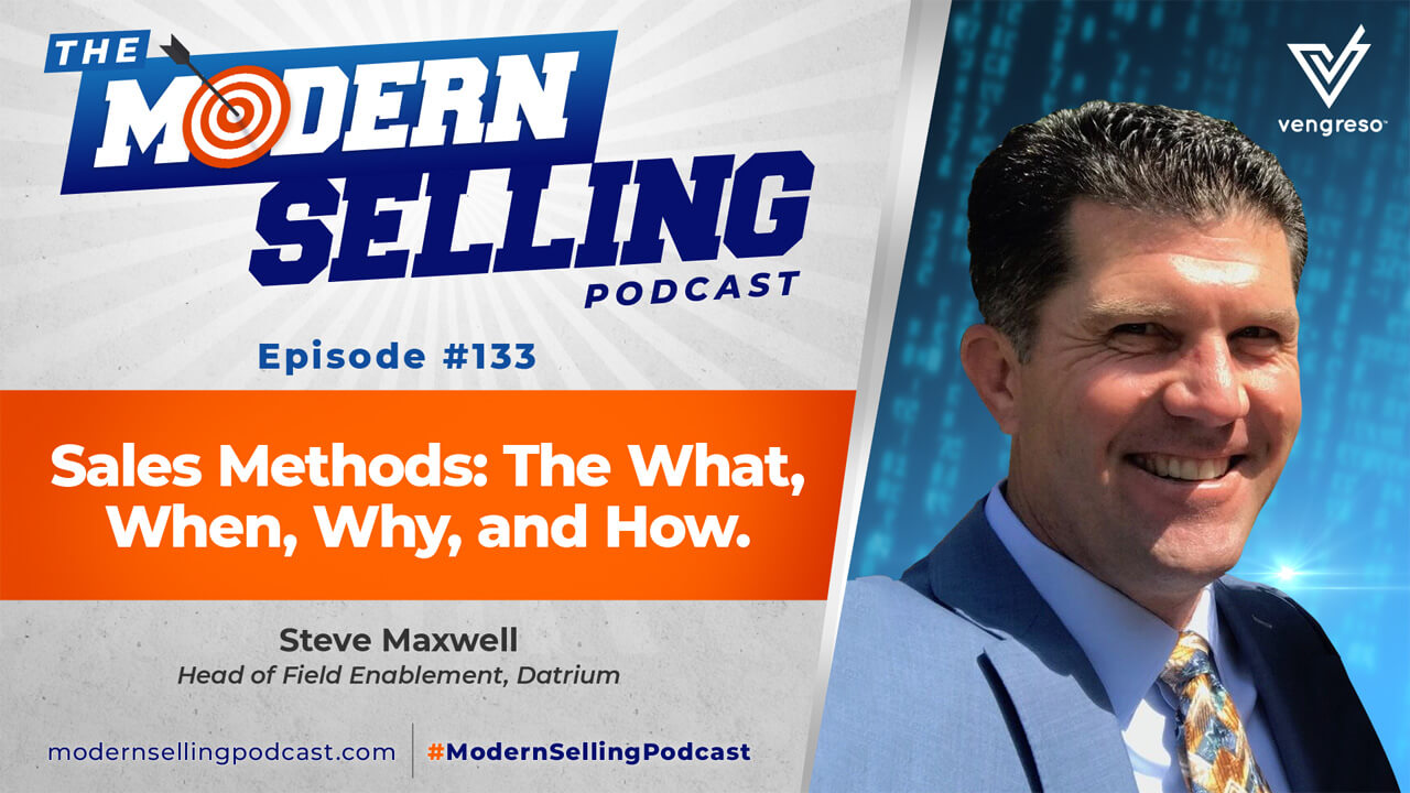 Steve Maxwell podcast interview on Sales Methods 101