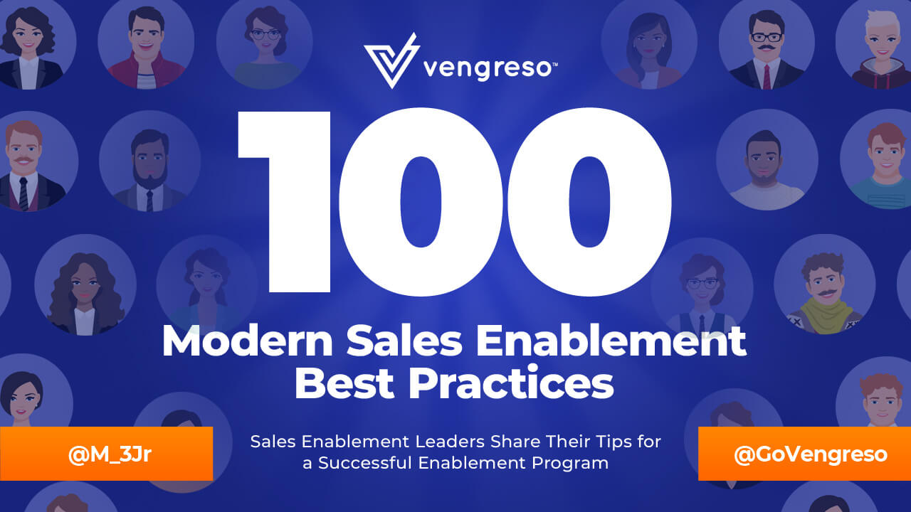 Vengreso's Top 100 Sales Enablement Best Practices
