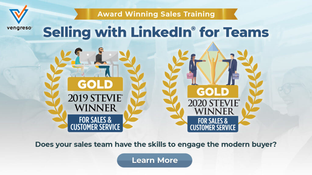 Vengreso Virtual Instructor-Led Selling with LinkedIn Sales Training