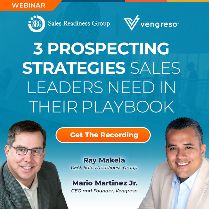 3 Prospecting Strategies Sales Leaders Need in Their Playbook