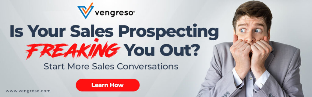 Is your sales prospecting freaking you out?