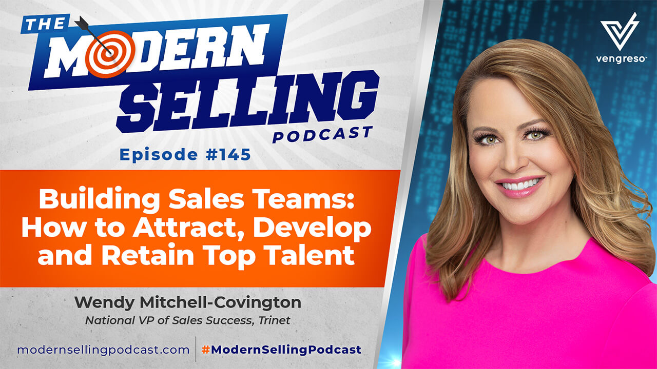 Wedny Mitchell-Covington of TriNet- State of Work 2020 - Modern Selling Podcast