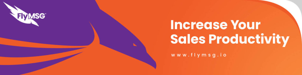 FlyMSG Sales Productivity Tool and Text Expander that Improves Sales Enablement