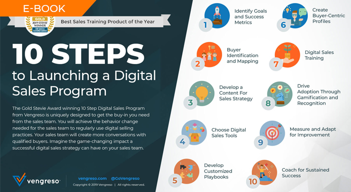 10 Steps to Launching a Digital Sales Program