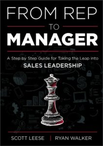From Rep to Manager Book Cover