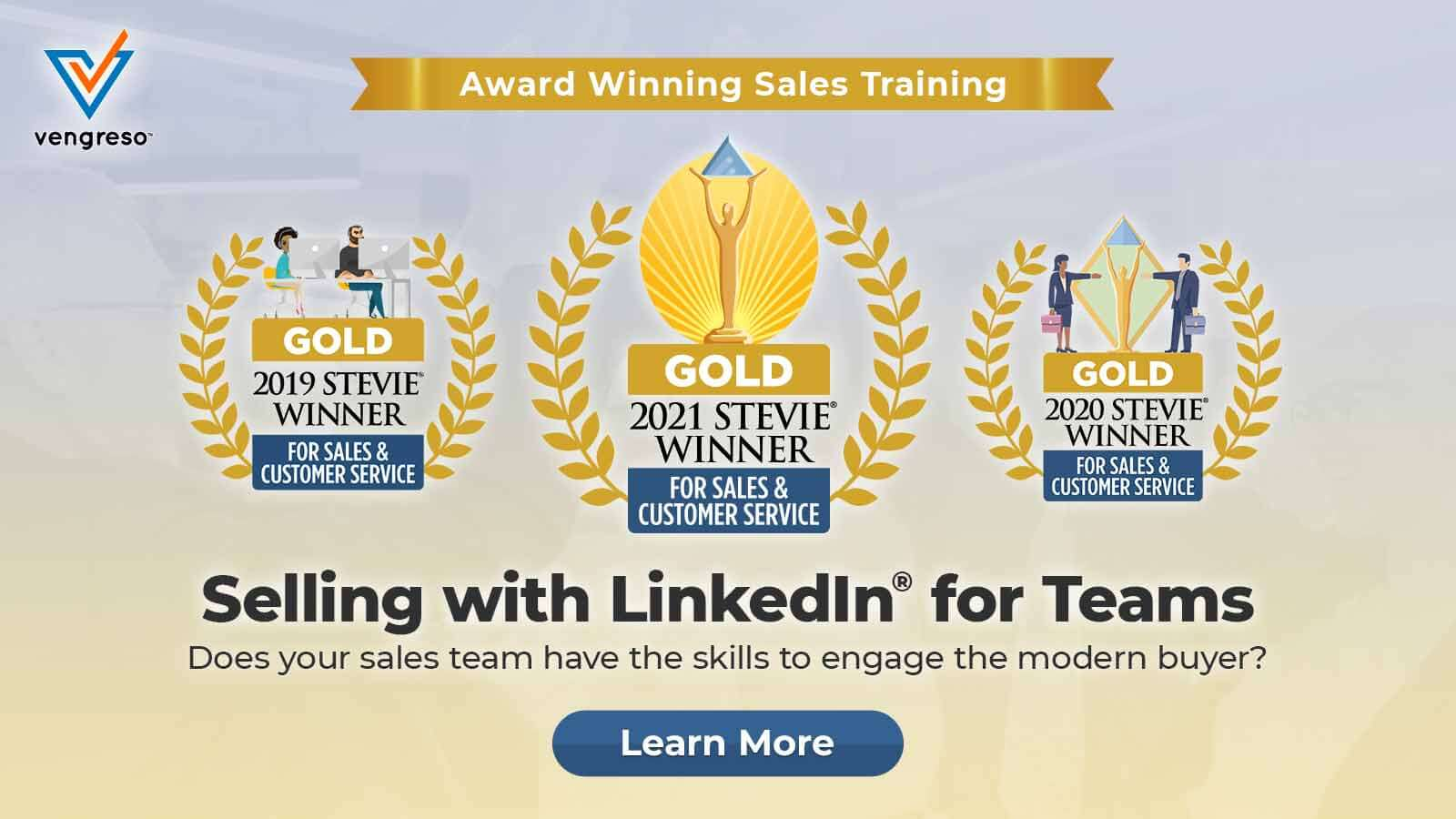 Selling with LinkedIn for Teams