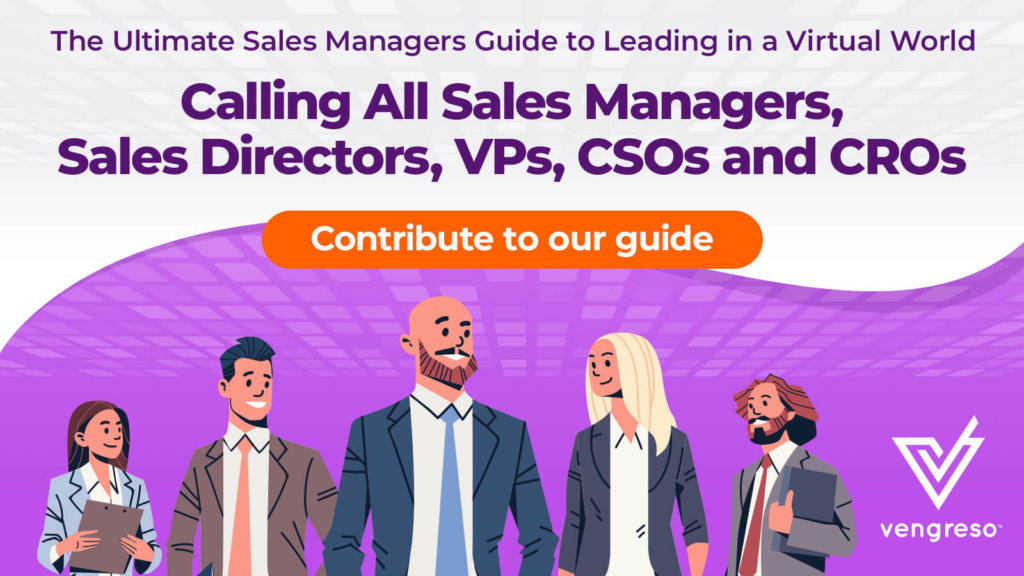 The Ultimate Sales Managers Guide to Leading in a Virtual World!